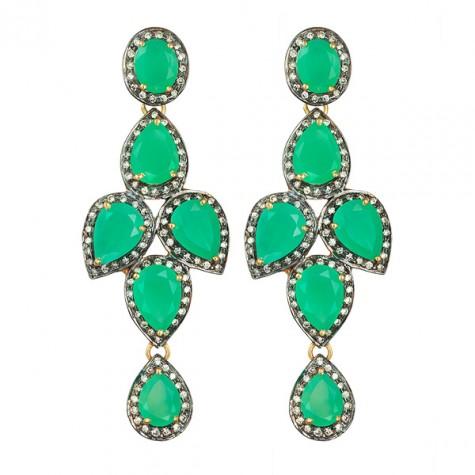 Crown earrings cryso Sophie Gyllenhammar Mattsson, smyckesdesigner