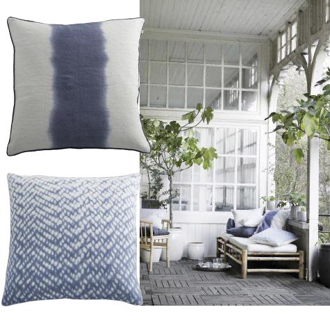 vinn sommarkuddar fr n tine k home femina. Black Bedroom Furniture Sets. Home Design Ideas