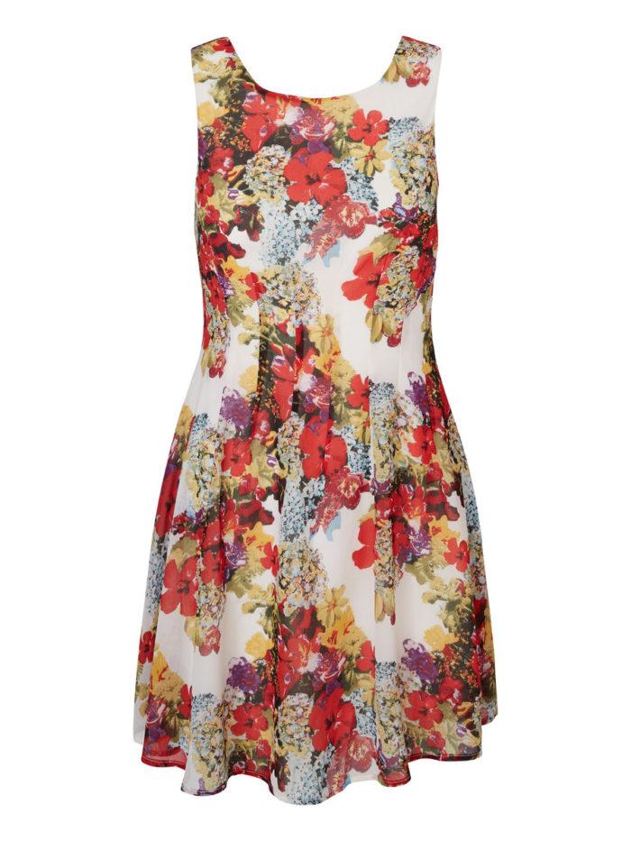 blommig klänning vero moda