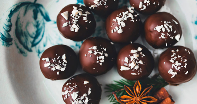 raw food bollar choklad