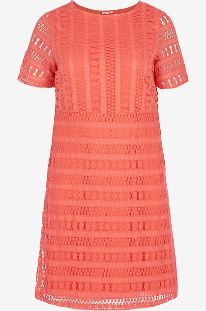 A-linjeformad klänning från Zizzi i vävd kvalitet 0d59a6bce0060
