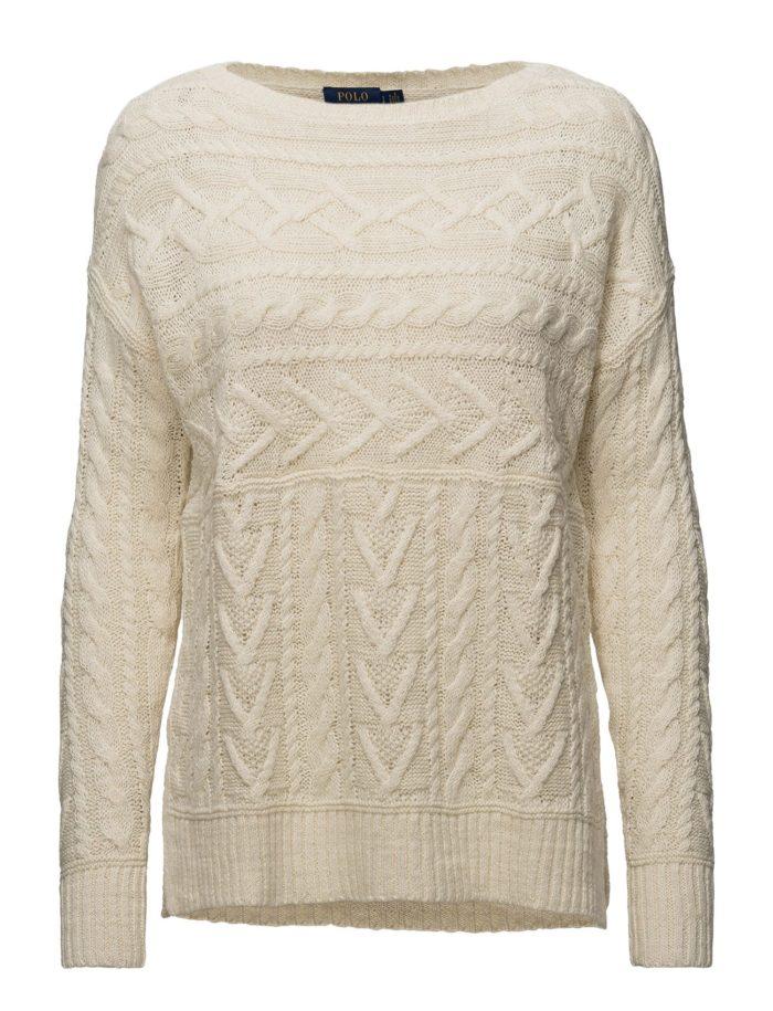 Flätstickad tröja från Polo Ralph Lauren