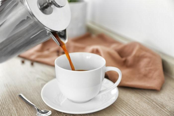 rengöring av kaffebryggare med ättika