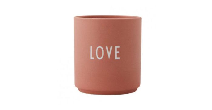 Romantisk kopp, perfekt som julklapp till din partner