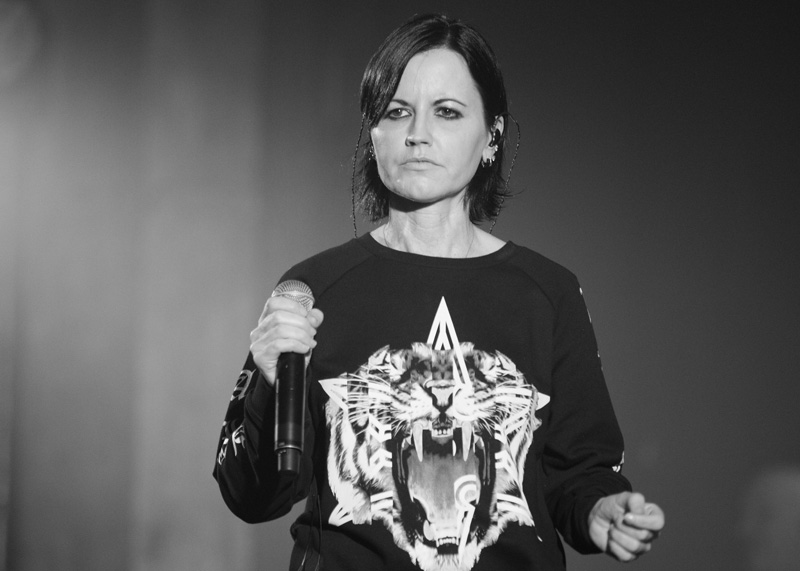 Sångaren i The Cranberries Dolores O'Riordan dog 2018.