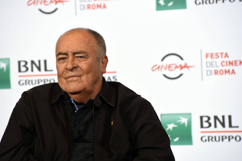 Bernardo Bertolucci dog 2018.