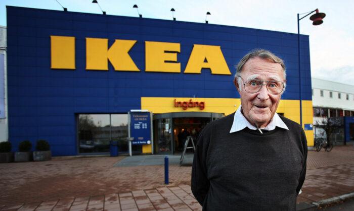 Ingvar Kamprad dog 2018.