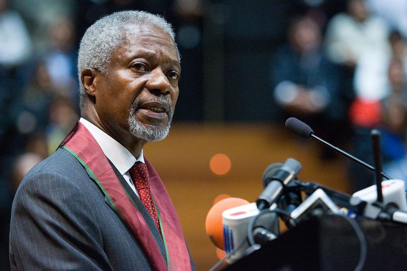 Kof Annan dog 2018.