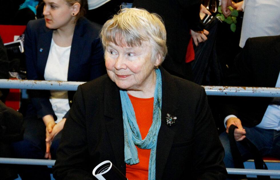 Lisbeth Palme dog 2018.