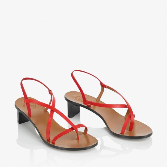 sandaletter utan klack