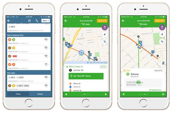 Hitta rätt i storstädernas kollektivtrafik med appen Citymapper.
