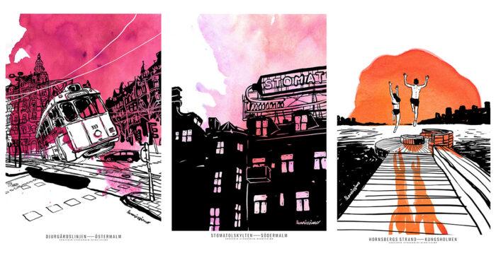 Ilustraciones de Dennis Wojda