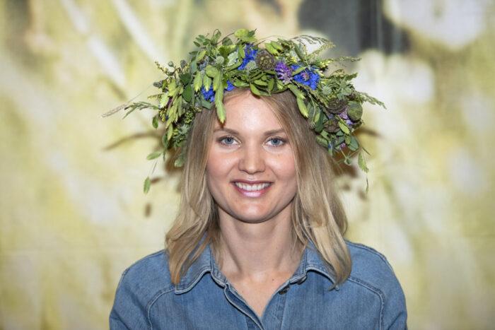 En bild på forskaren Emma Frans, en av årets sommarpratare i Sommar i P1.