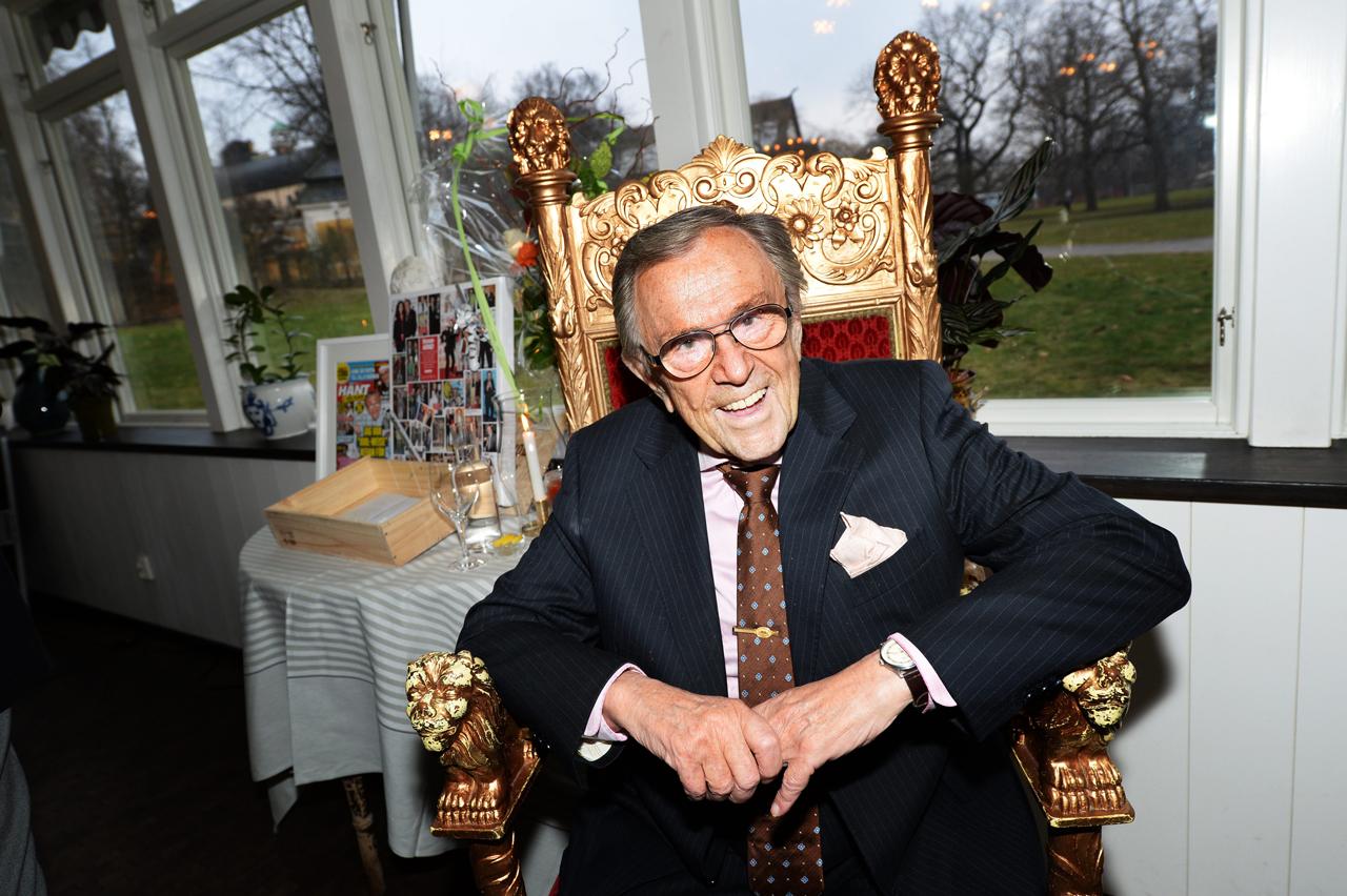 Arne Weise, en av de kändisar som gått bort under 2019.