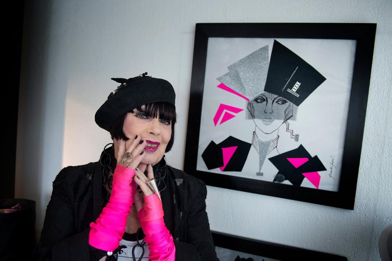 Gunilla Pontén, en av de kändisar som gick bort under 2019.