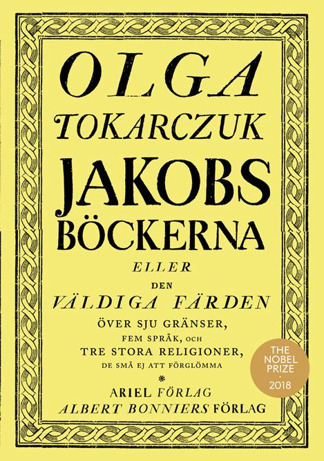 Jakobsböckerna av Olga Tokarczuk