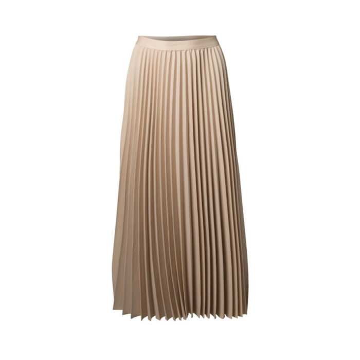 Beige Leopardmönstrad kjol i lyocellblandning   Lindex