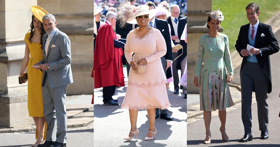 Gästerna på Harry och Meghans bröllop – se bilderna här