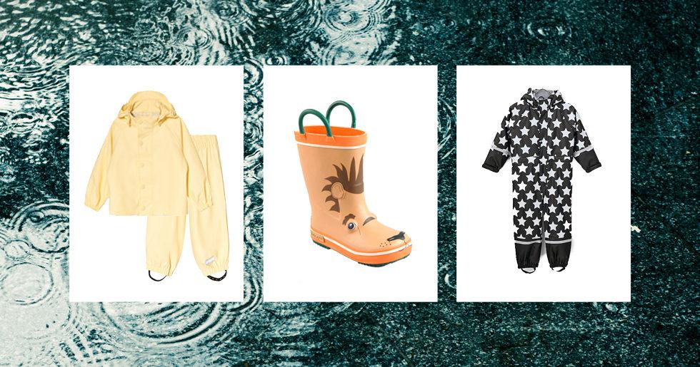 0d8340ba1254 Fina regnkläder till barn – 16 vattentäta plagg! | Femina
