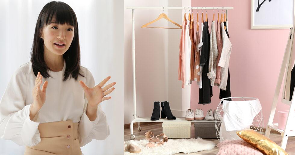 Så skapar du ordning och reda i garderoben – med KonMari-metoden ... 22eb5de02e417