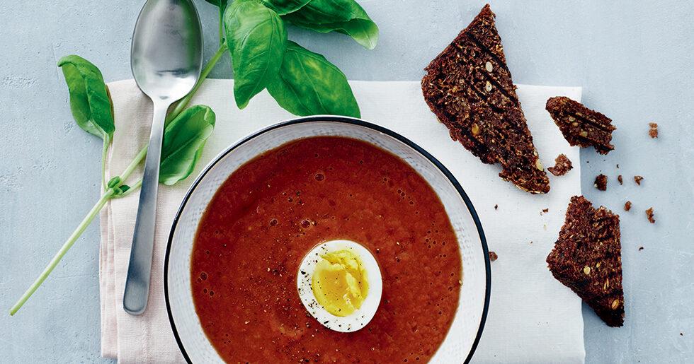 kall tomatsoppa recept