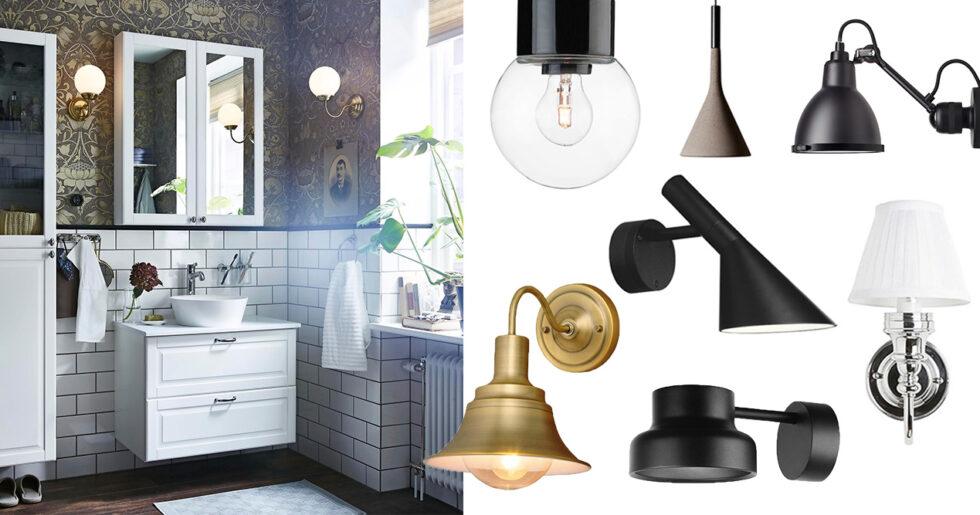 Välkända 13 snygga badrumslampor som är IP 44-klassade | Femina EM-51