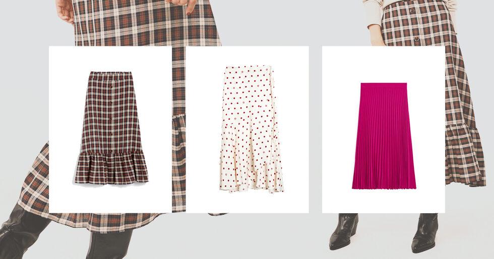 Så stajlar och matchar du den trendiga vadlånga kjolen!