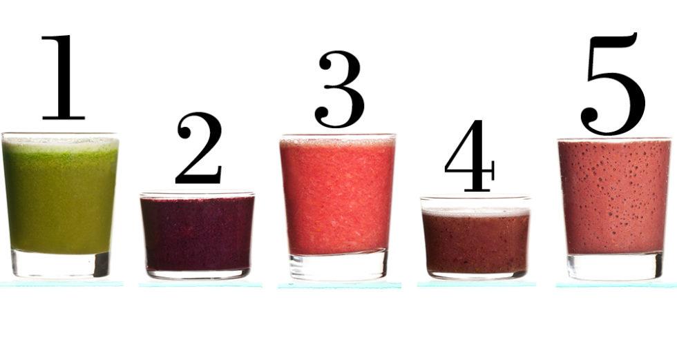 5 smoothies för bättre hälsa