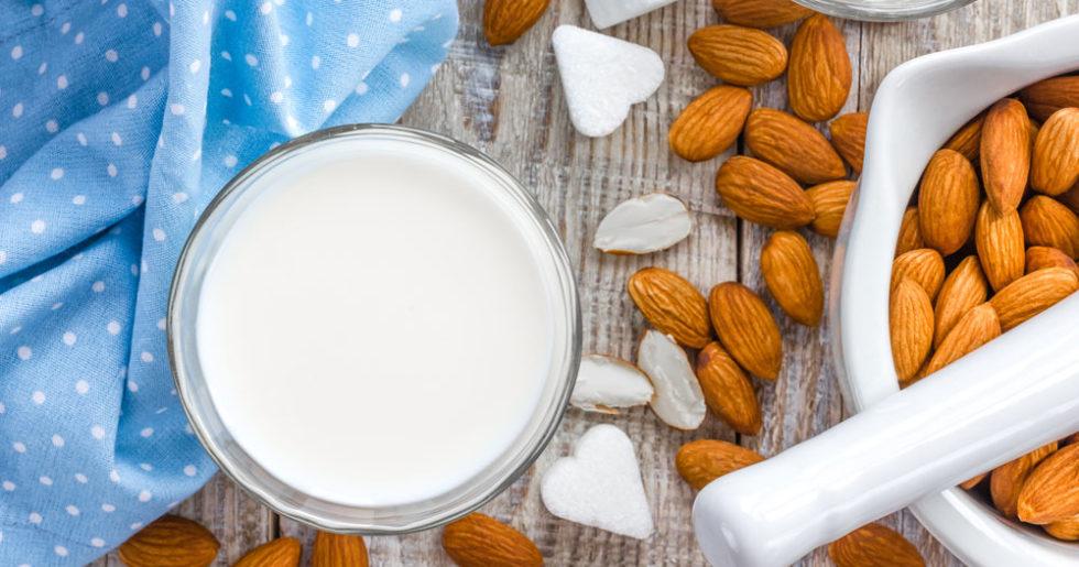 gör din egen mandelmjölk