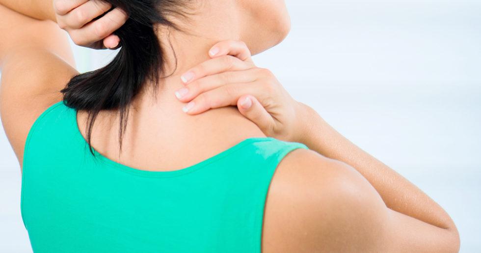 spänningsvärk i nacken