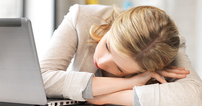 alltid trött trots sömn