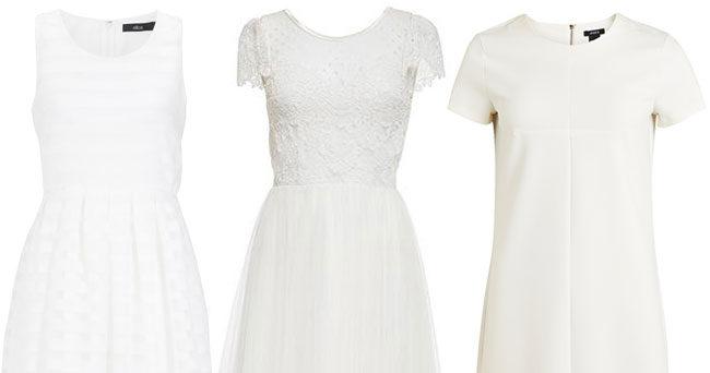 15 vita klänningar du inte vill missa sommaren 2016  48e6905126af5