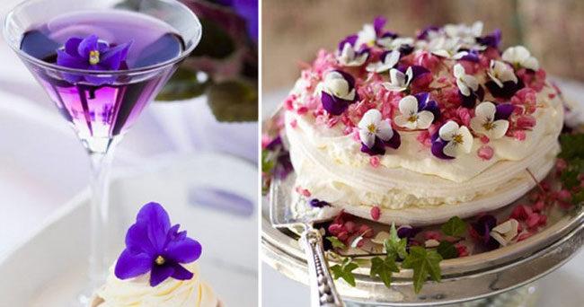 11 exempel på ätbara blommor | ELLE