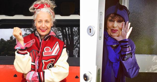 44ca4091a5e3 10 äldre kvinnor som visar att mode är för alla | Femina