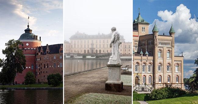 Flera svenska slott