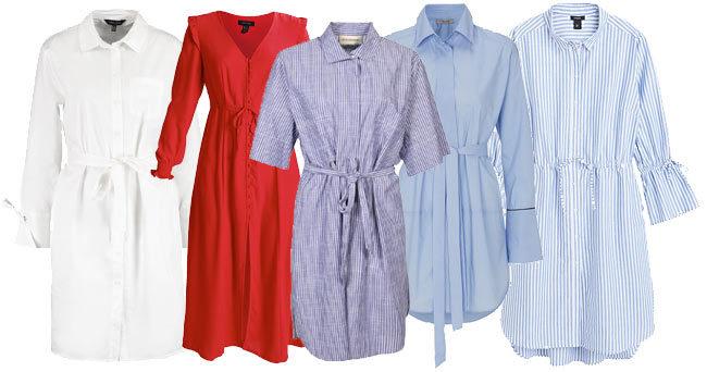 Sommarens bästa skjortklänningar – 11 shoppingtips!