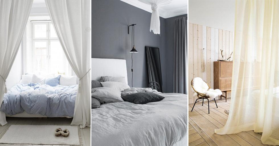 7b5f69326a7e 9 sätt att inreda med gardiner i sovrummet | Femina