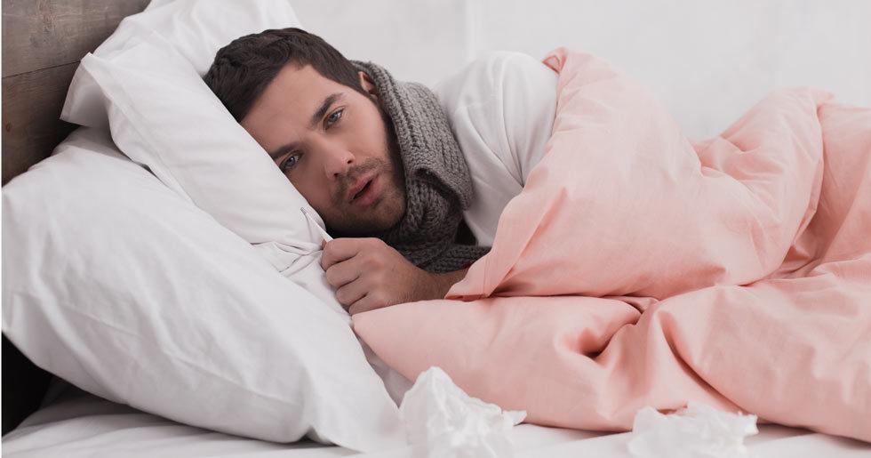 Det ar bevisat mans forkylningar ar varre