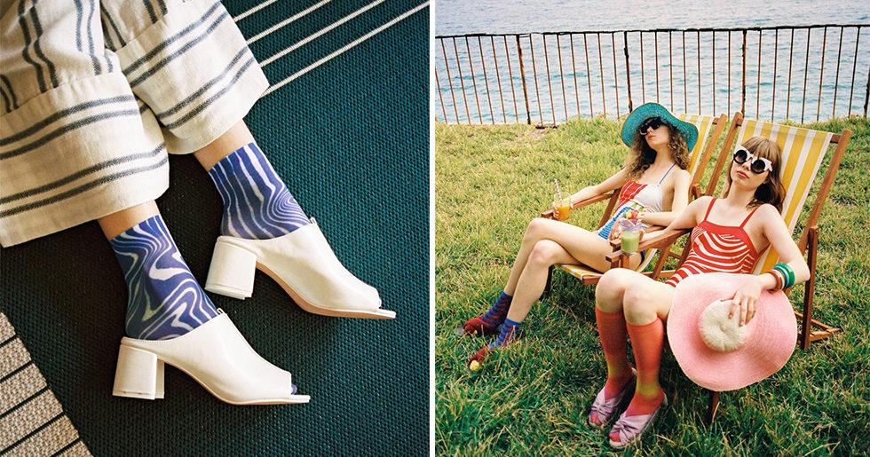 Se bilderna på Happy socks nya kollektion för kvinnor