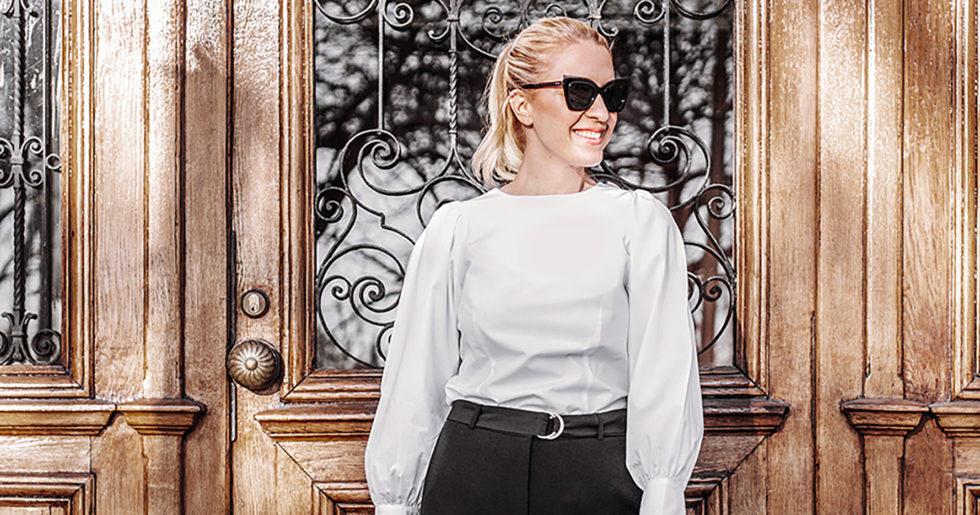 10 svartvita garderobsräddare – så här kombinerar du dem