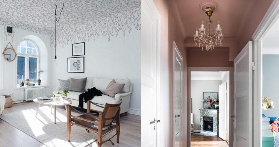 Glöm väggarna – målade tak är den nya trenden  adc946f792a5b