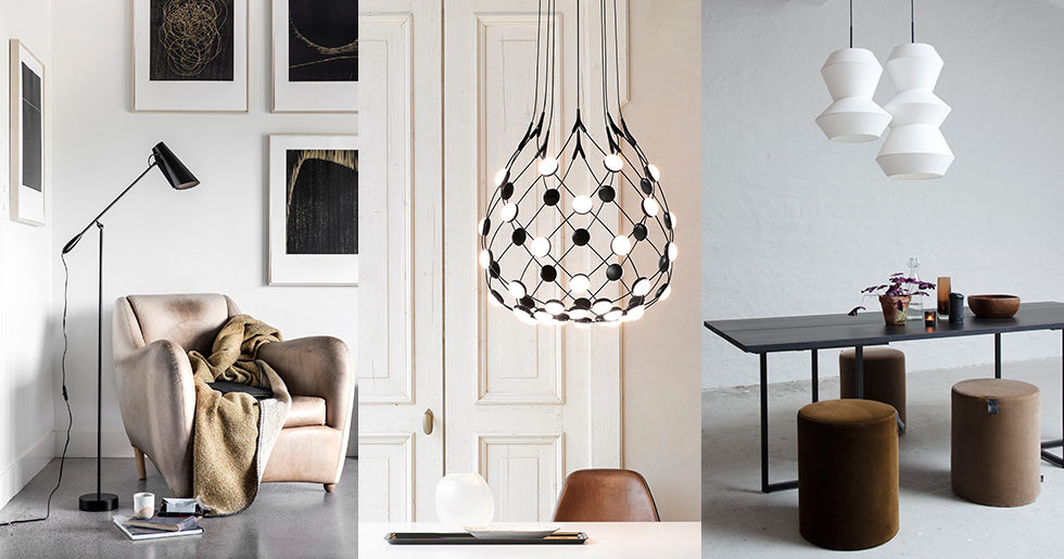 16 snygga och trendiga lampor som lyfter din inredning