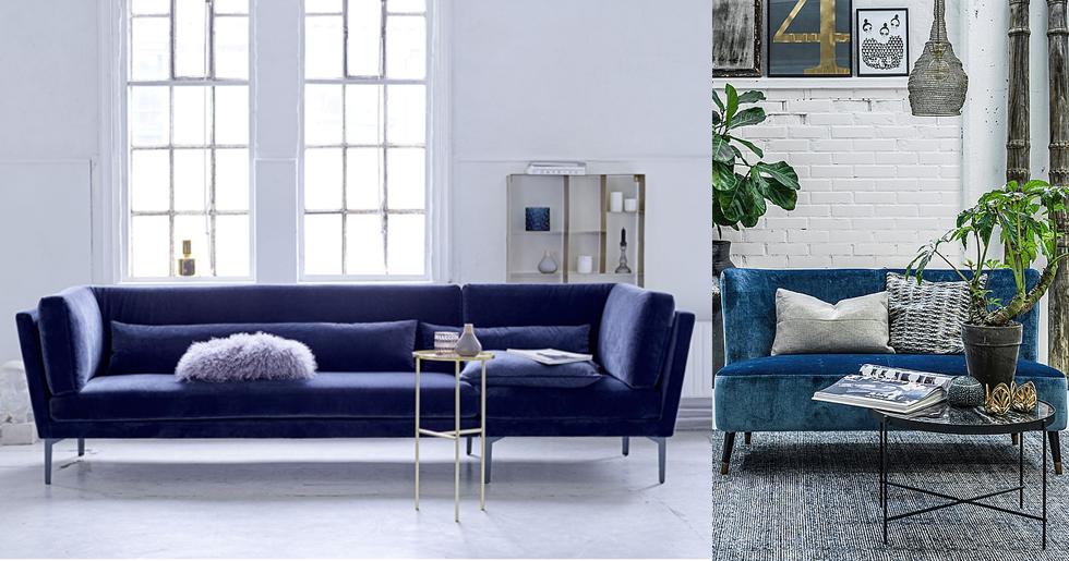 Populära Blå soffa – 15 stilsäkra köp   Femina YN-15