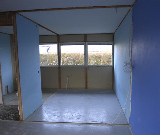 Renovering sovrum 5