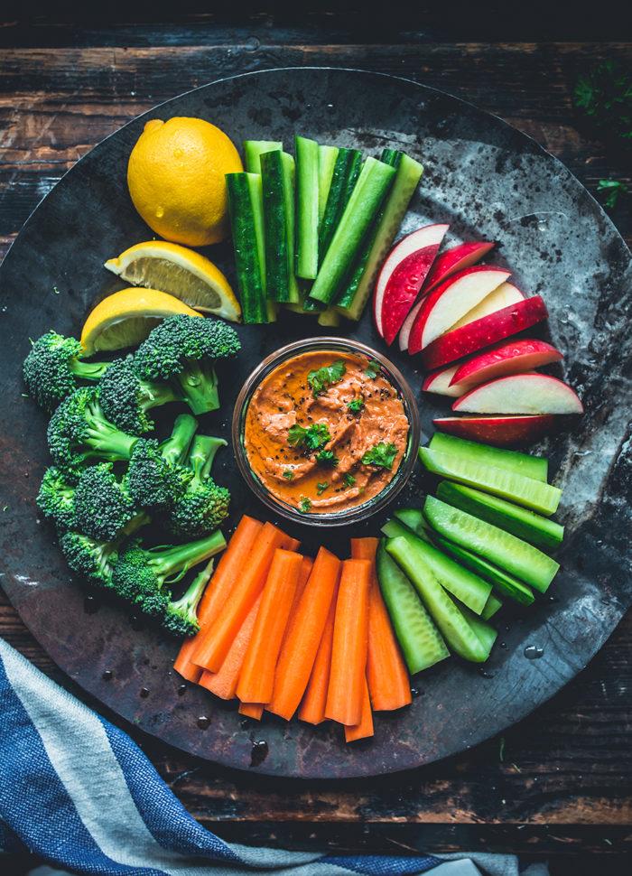 Dippa grönsaker och äpple - Evelinas Ekologiska
