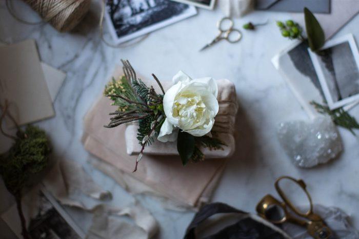 Blommande paket