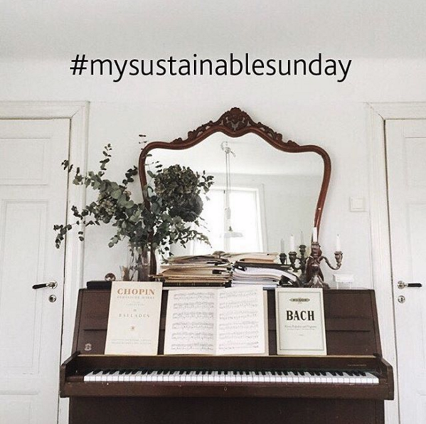 My sustainable sunday- bokprojekt Ida Magntorn
