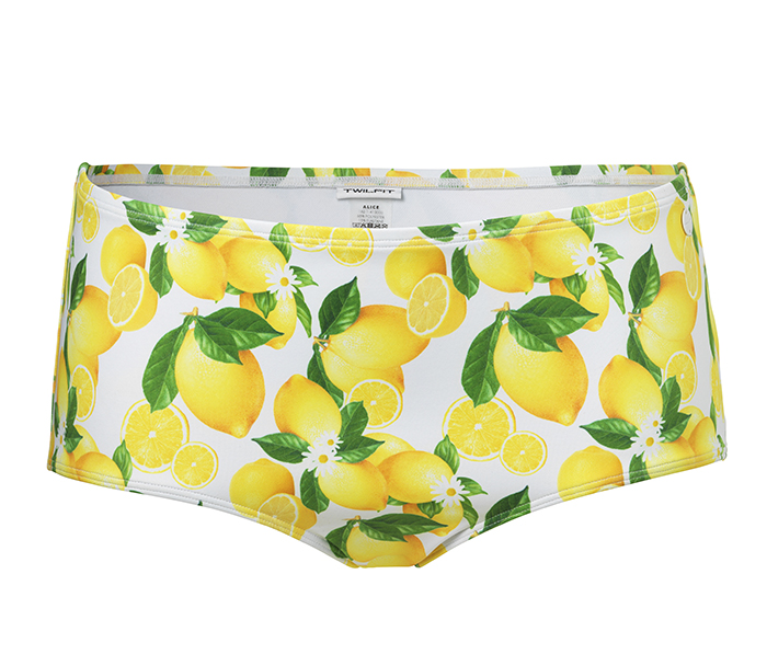 Bikinitrosa med citronmönster från Twilfit