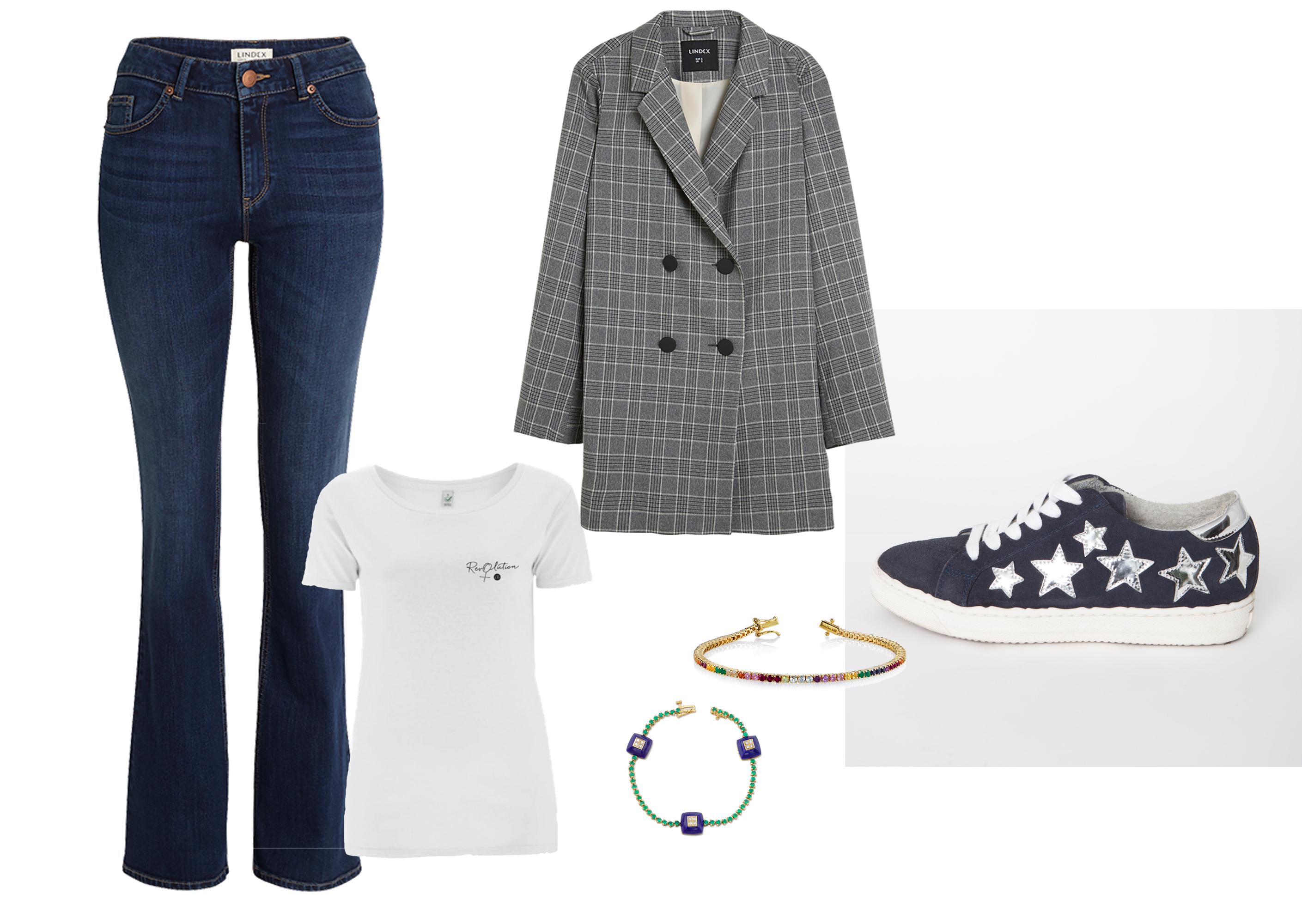 Garderobsutmaning: Från praktisk till chic i samma outfit?