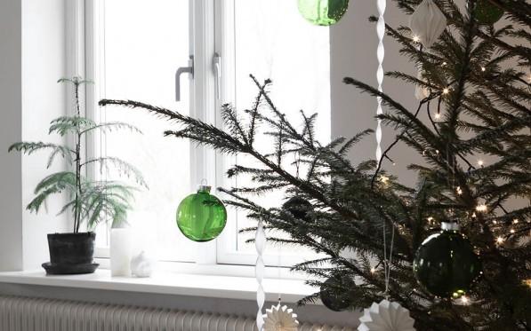 Min julgran   Med eller utan stjärna?...
